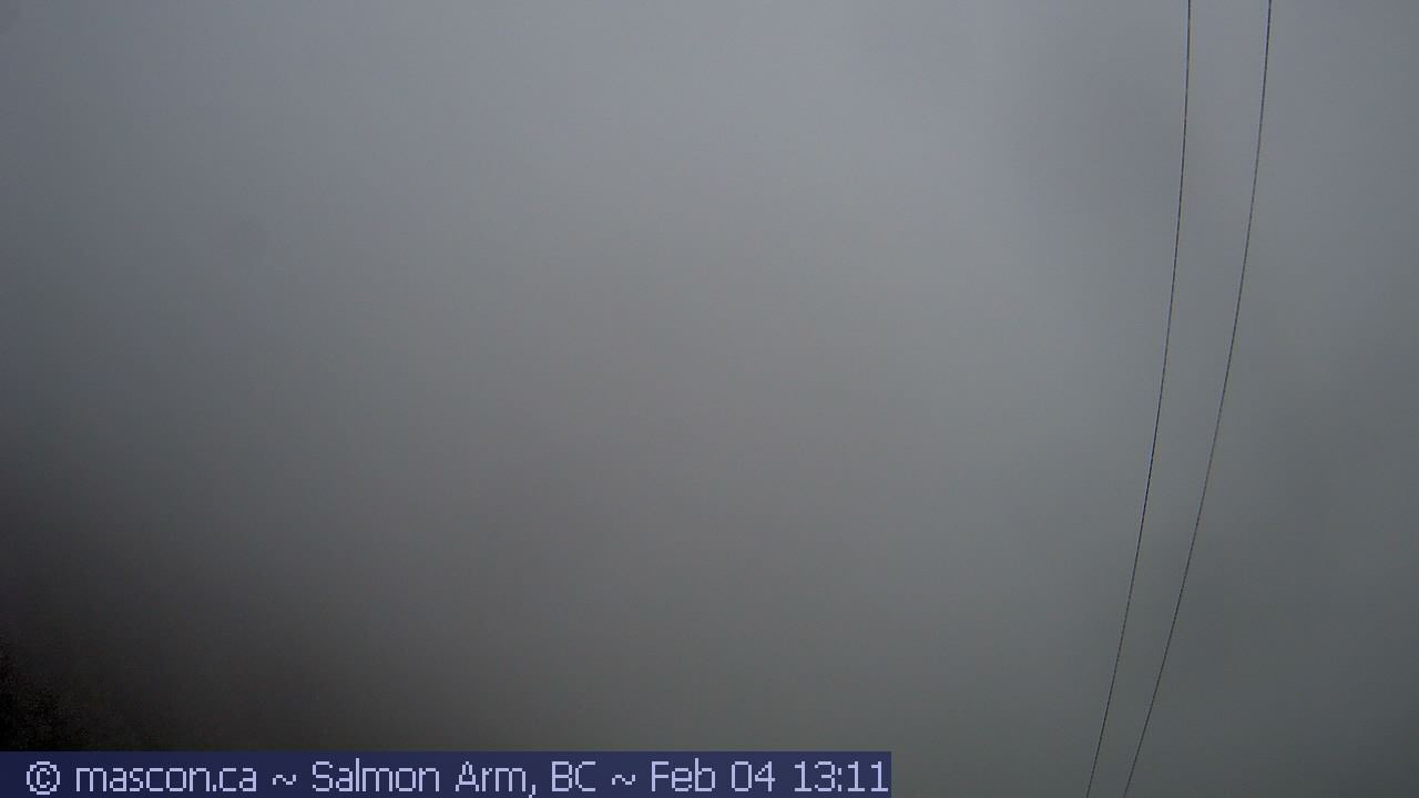 Salmon Arm webcam - Bastion Mountain webcam, British Columbia, Columbia-Shuswap